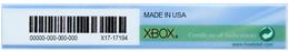 Xbox Certificate of Authenticity (COA)