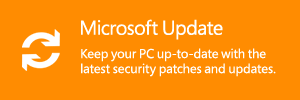 Get the latest updates for your PC at Microsoft Update.