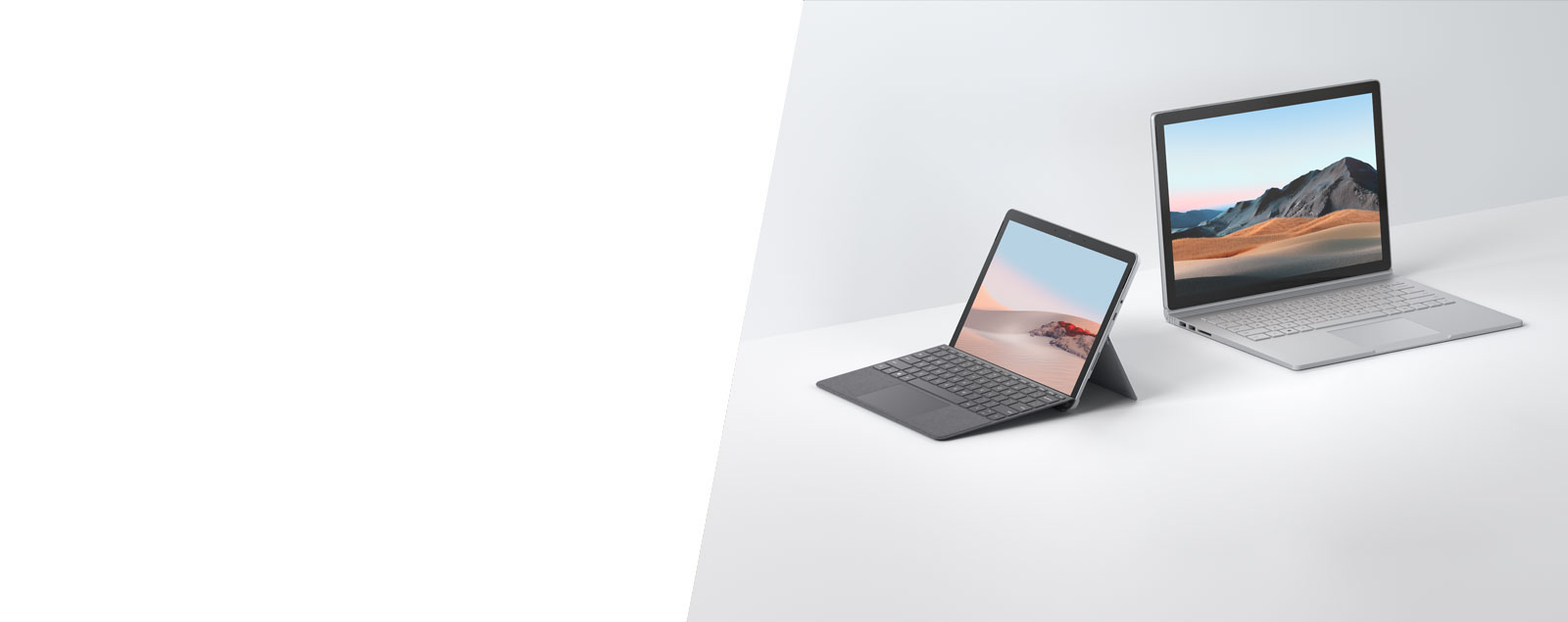 Surface Go 2 and Surface Book 3