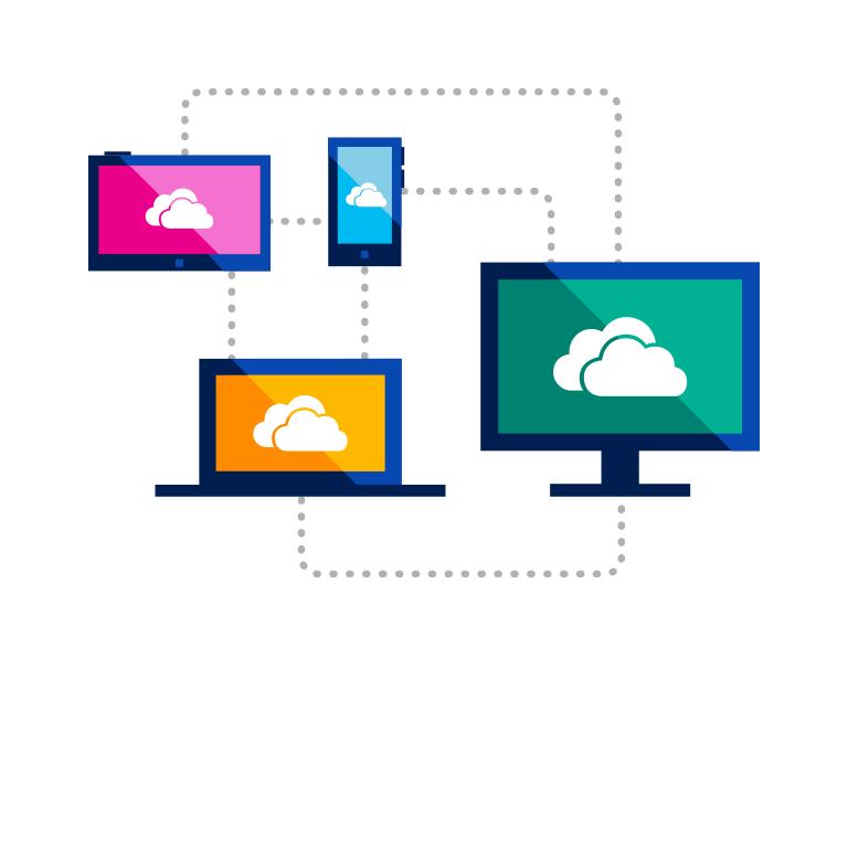 سجل بياناتك على OneDrive واحصل على مساحة تخزين مجانية عبر الإنترنت قدرها 15 غيغابايت.