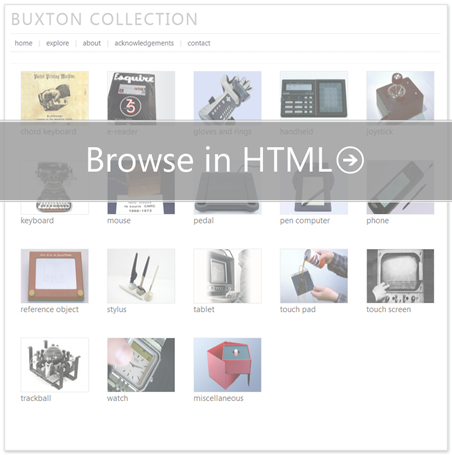 Browse the collection in HTML