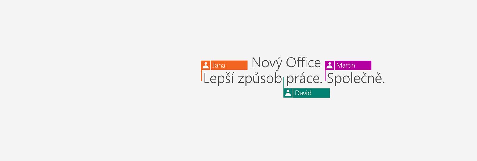 Kupte si Office365. Získáte nové aplikace ve verzi2016.