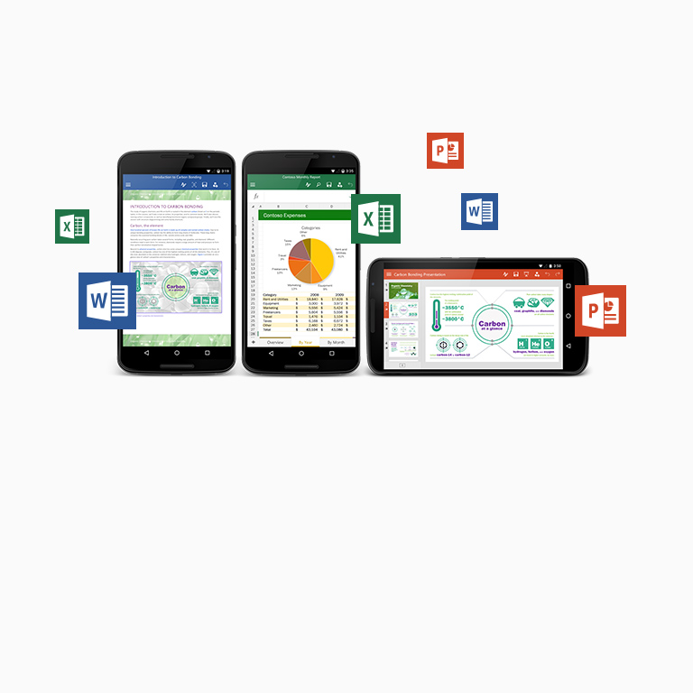 Získejte obezplatných aplikacích Office pro telefony a tablety Android další informace.