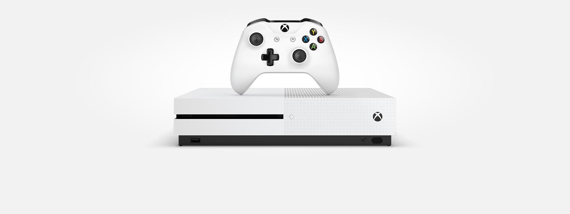 Xbox One S-konsol og -controller, køb nu