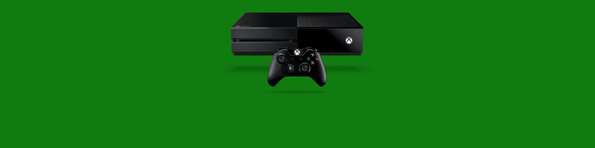 En Xbox One-konsol og -controller