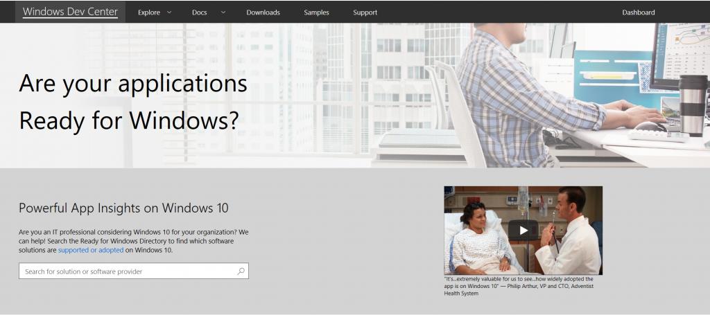 Sind Ihre Anwendungen bereit für Windows?