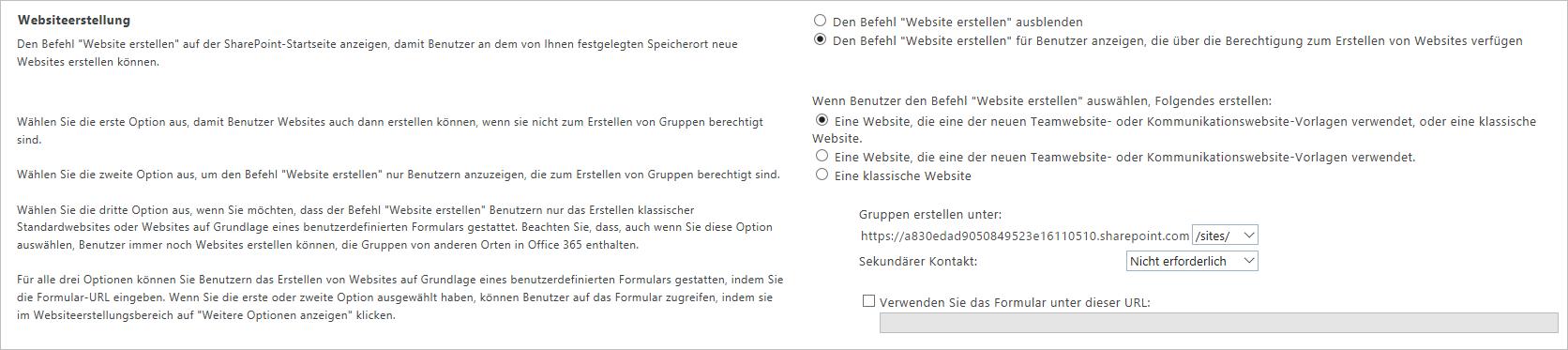 Verbundene SharePoint Online-Teamwebsites in Sekundenschnelle ...