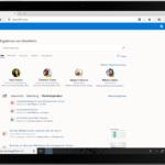 Ein Screenshot mit den Ergebnissen der intelligenten Suche in SharePoint