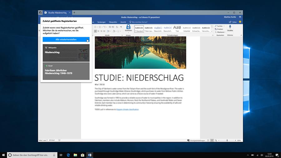"""Ein Screenshot mit der Funktion """"Sets"""", die Nutzern die Organisation erleichtert"""