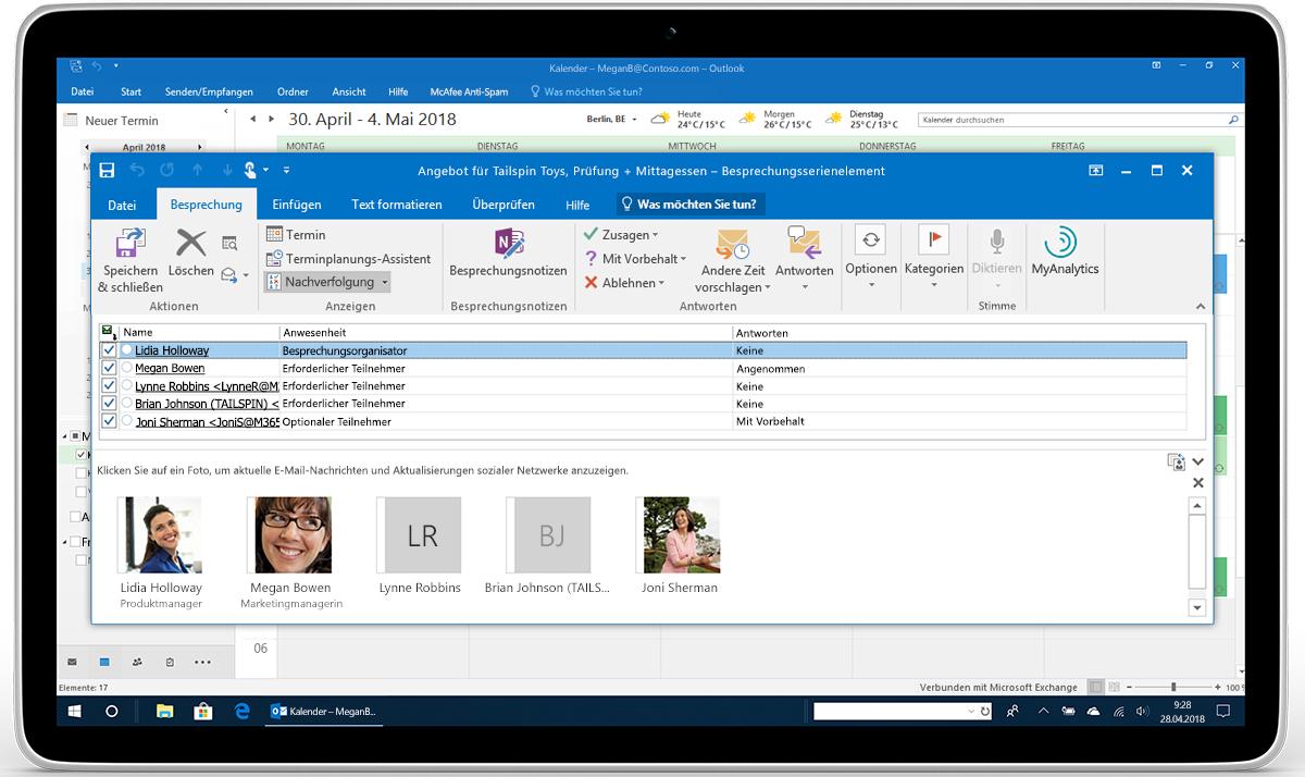 Neue Leistungsfähige Funktionen Für Kalender E Mail Und Die