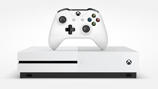 Xbox One S Konsole und Controller, jetzt vorbestellen