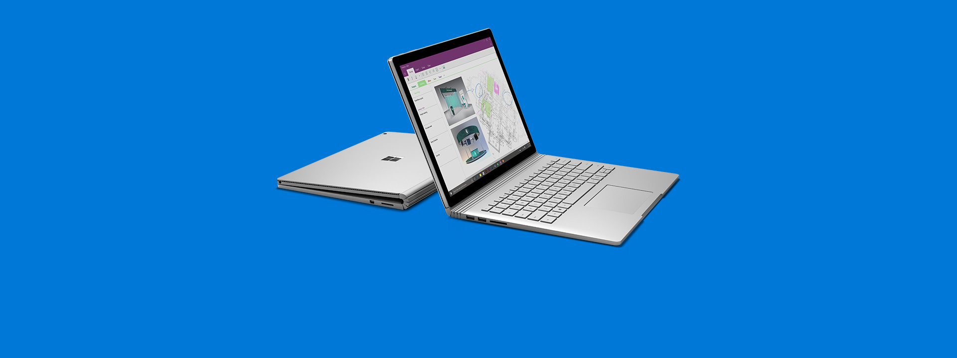 Zwei Surface Books, weitere Informationen