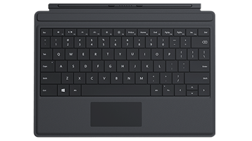 Surface 3 Type Cover (Schwarz)
