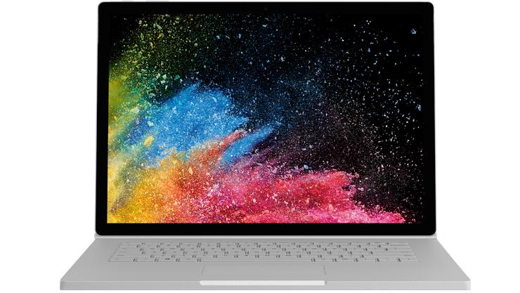 Geräte-Rendering von Surface Book 2