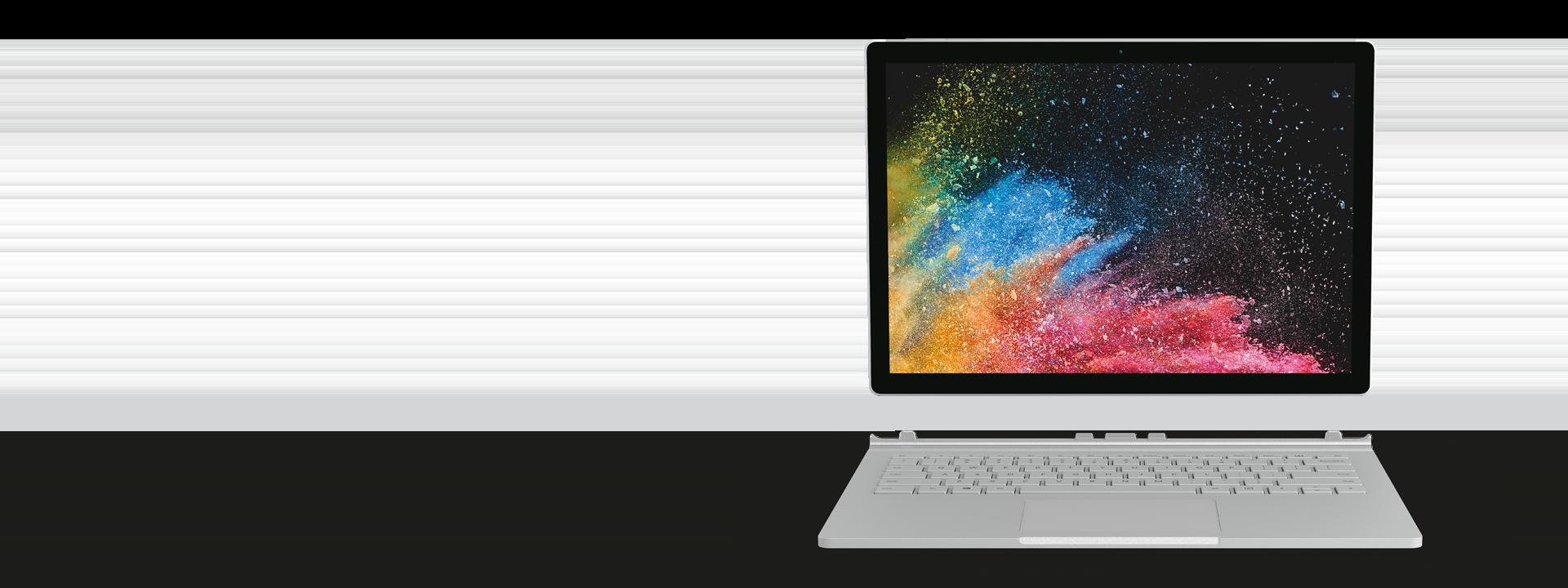 Surface Book 2 mit 13,5-Zoll-PixelSense™-Bildschirm