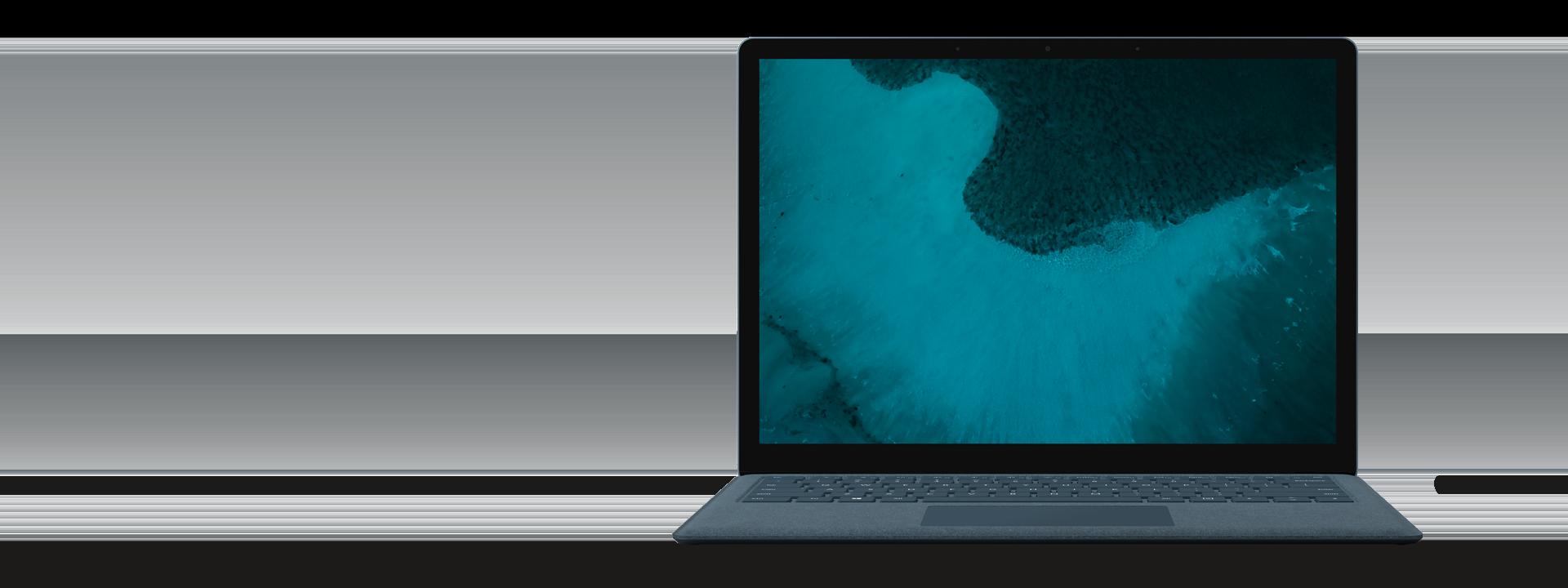 Surface Laptop 2 – Kobalt Blau