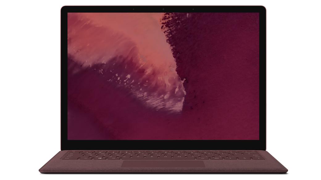 Surface Laptop 2 – Bordeaux Rot