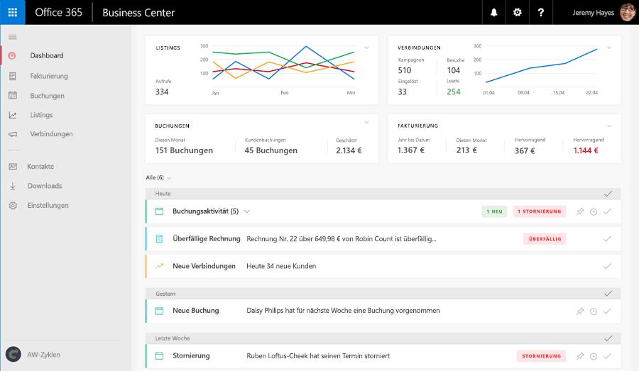 Neue Geschäftsanwendungen In Office 365 Business Premium