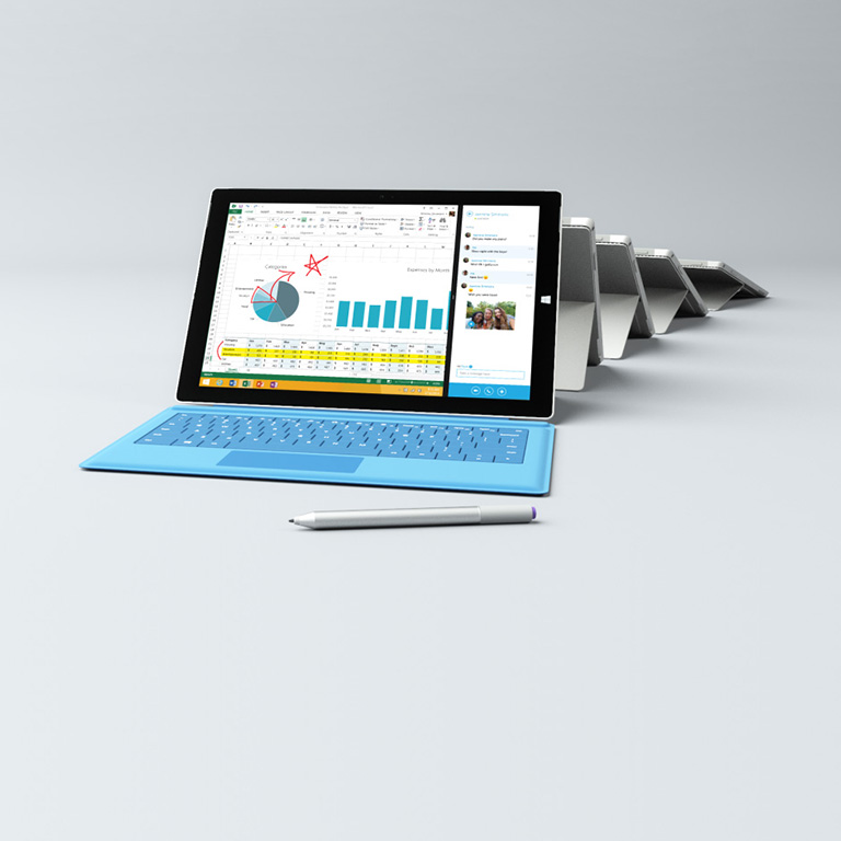 The tablet that can replace your laptop.