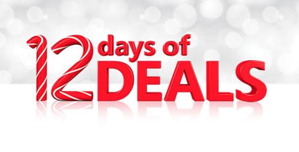 12 days of deals banner