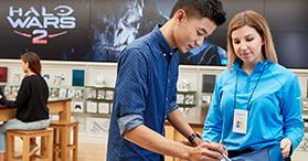 Students save 10% at Microsoft Store