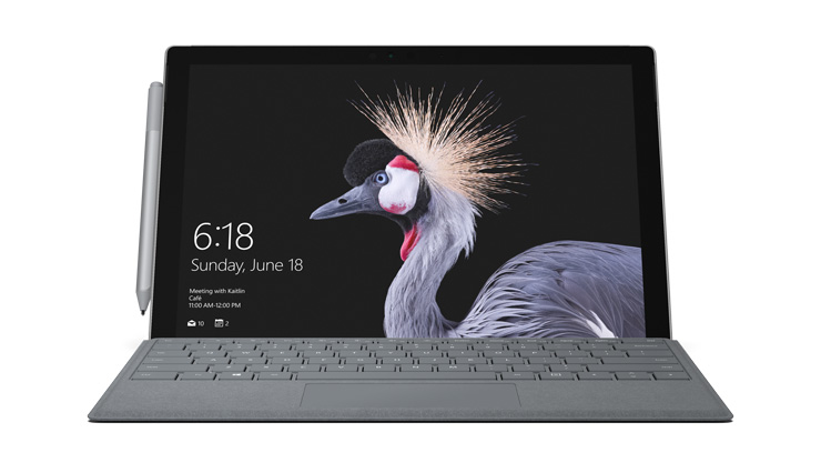 Device render of Surface Pro