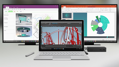 Multiple Surface devices and accessories