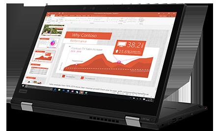 Image of the Lenovo L390 Yoga.