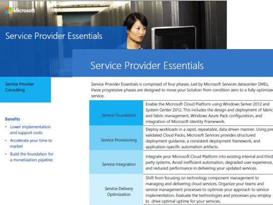 Service Provider Essentials Datasheet