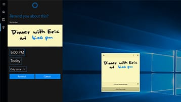 Cortana integration with apps