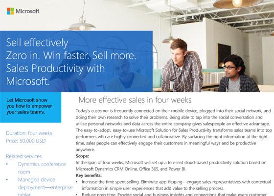 Sales Productivity Accelerator
