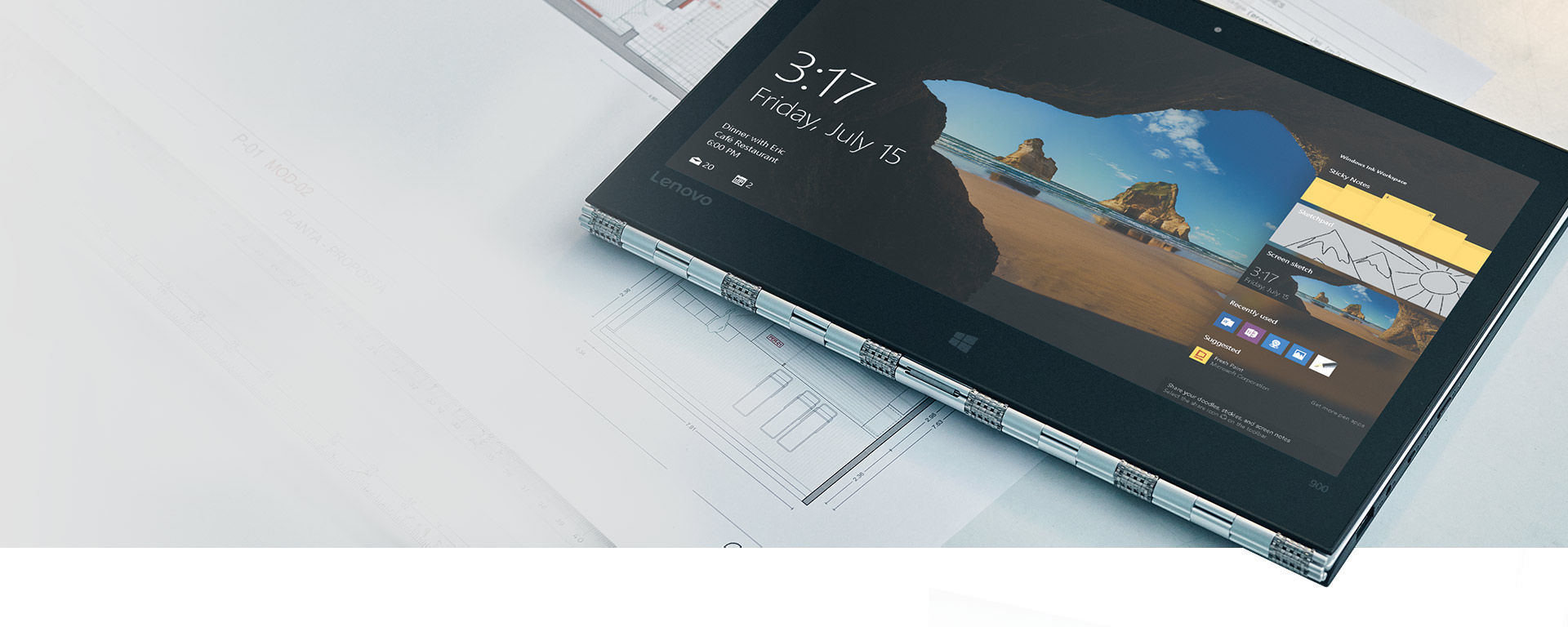 Lock screen on Windows 10 PC