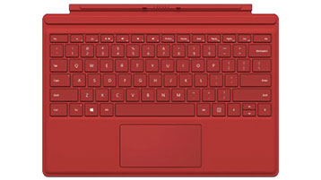 Surface Pro 4 Type Cover(Red)