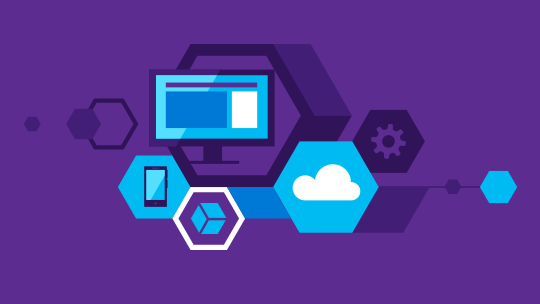 Technology icons, download Visual Studio 2015