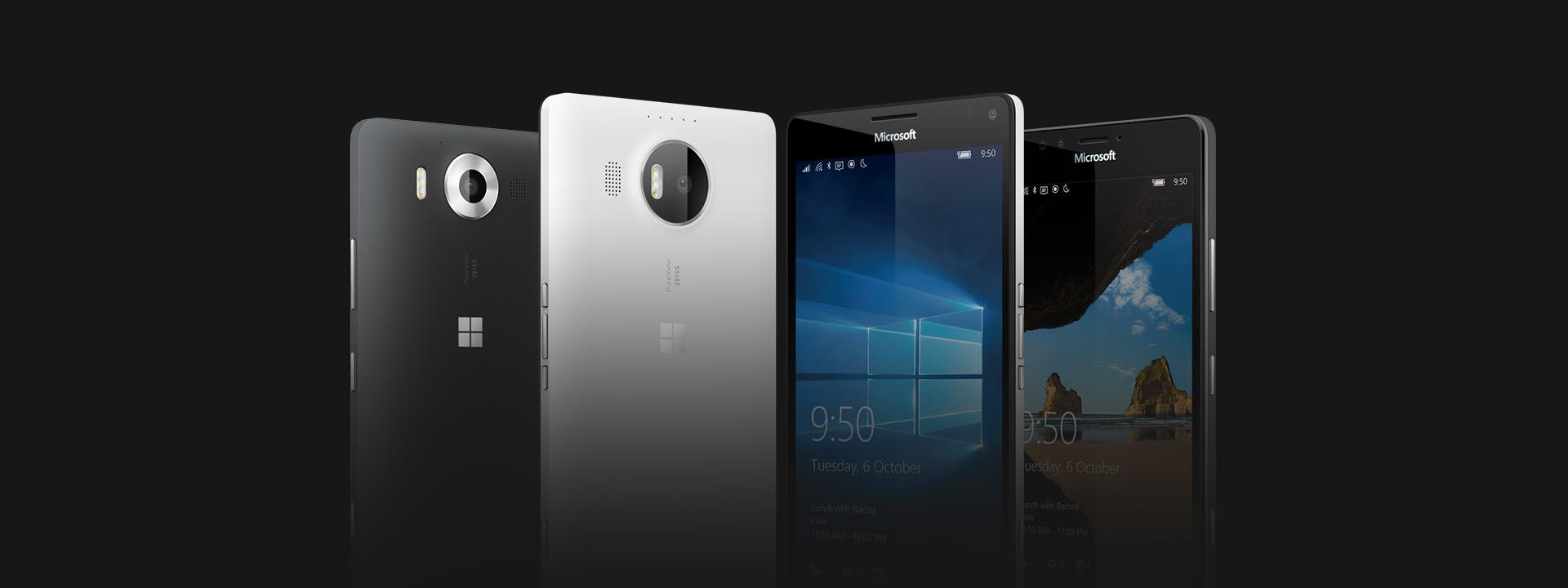 Lumia 950 and Lumia 950 XL, shop now