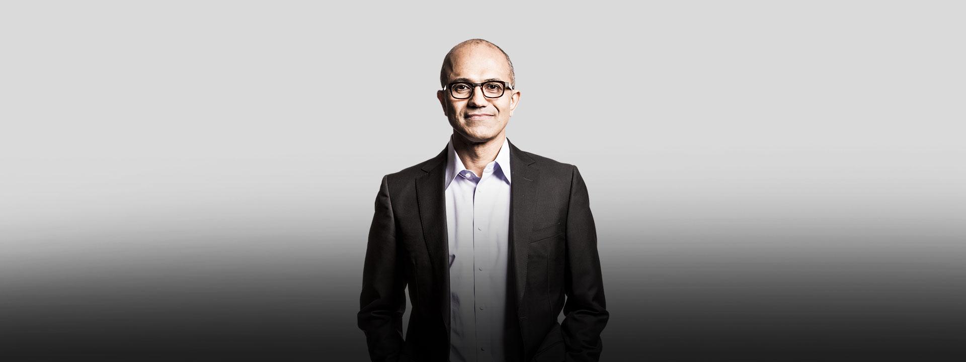 Image of Satya Nadella, Register for Microsoft Developer Day