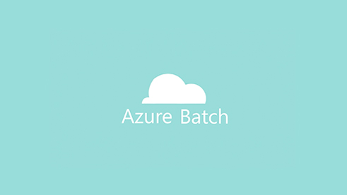 Azure Batch logo of a cloud