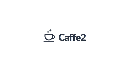 Logo for Caffe2 with coffee icon