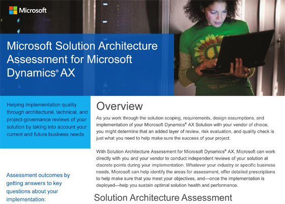 Solution Architecture Assessment