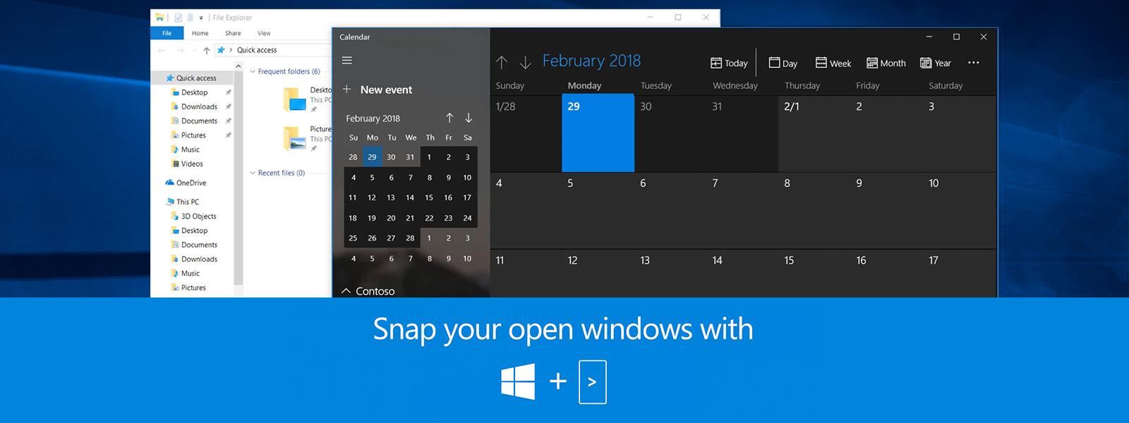 Still screen of keyboard shortcuts video