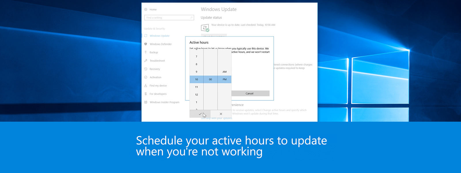 Still screen of Manage Updates video