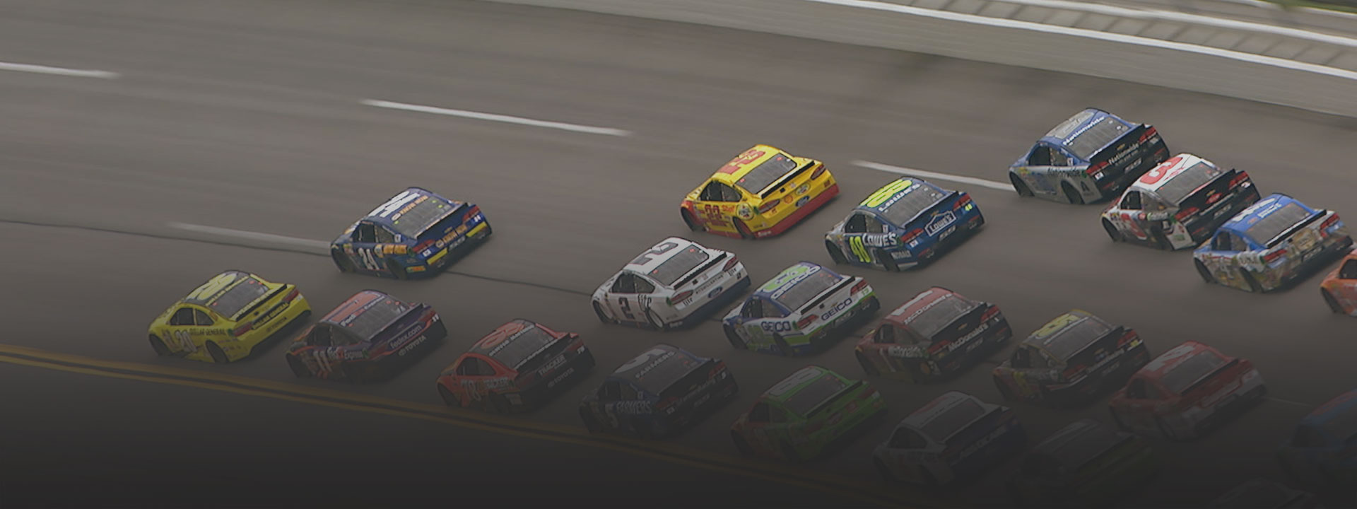 Cars racing, see how we're helping NASCAR