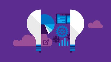 Light bulb and gears, download Visual Studio 2015 dev guide
