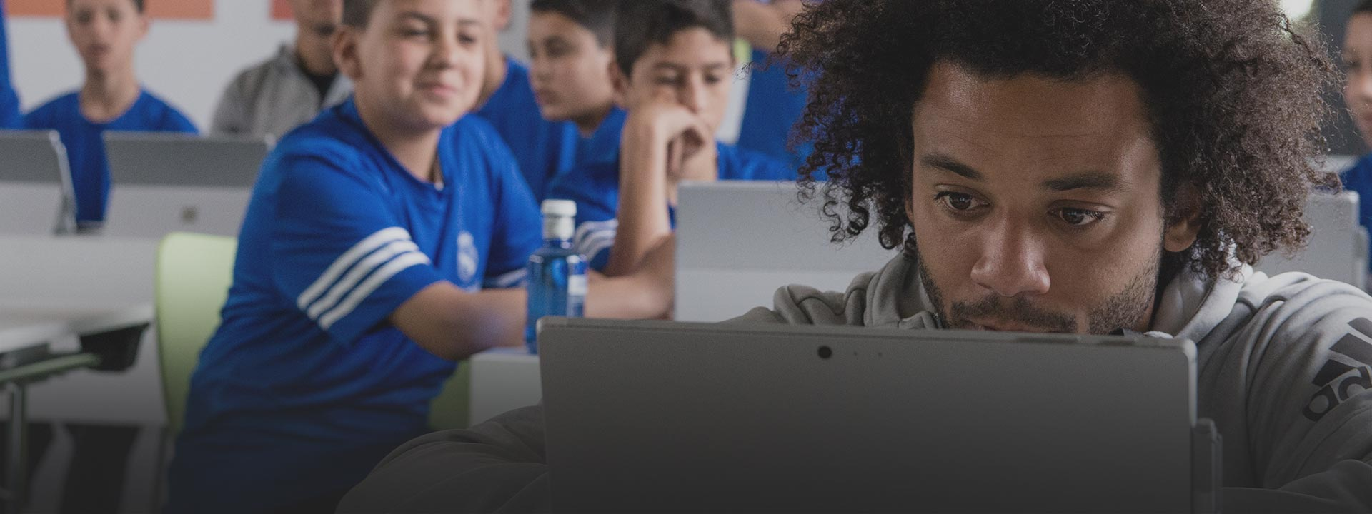 Kids and PCs, see how we provide access to technology