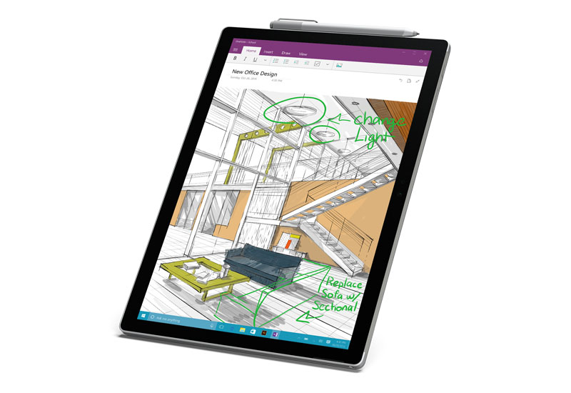 how to put the tips in the surface pen