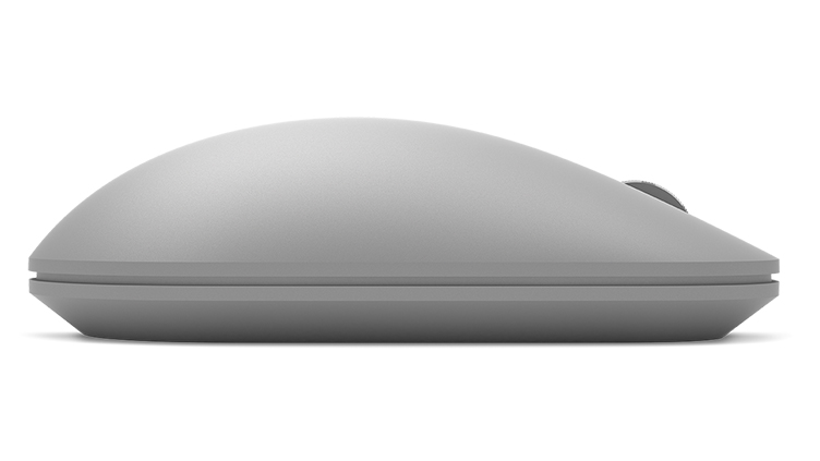 Detail of Surface Mouse as seen from the side