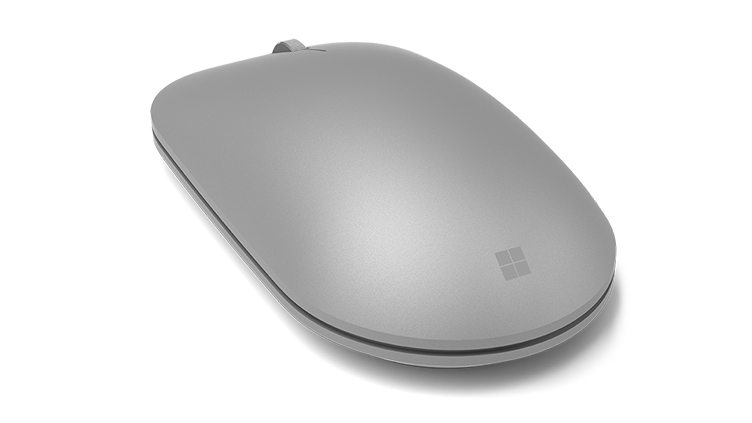 Detail of Surface Mouse as seen from the back left