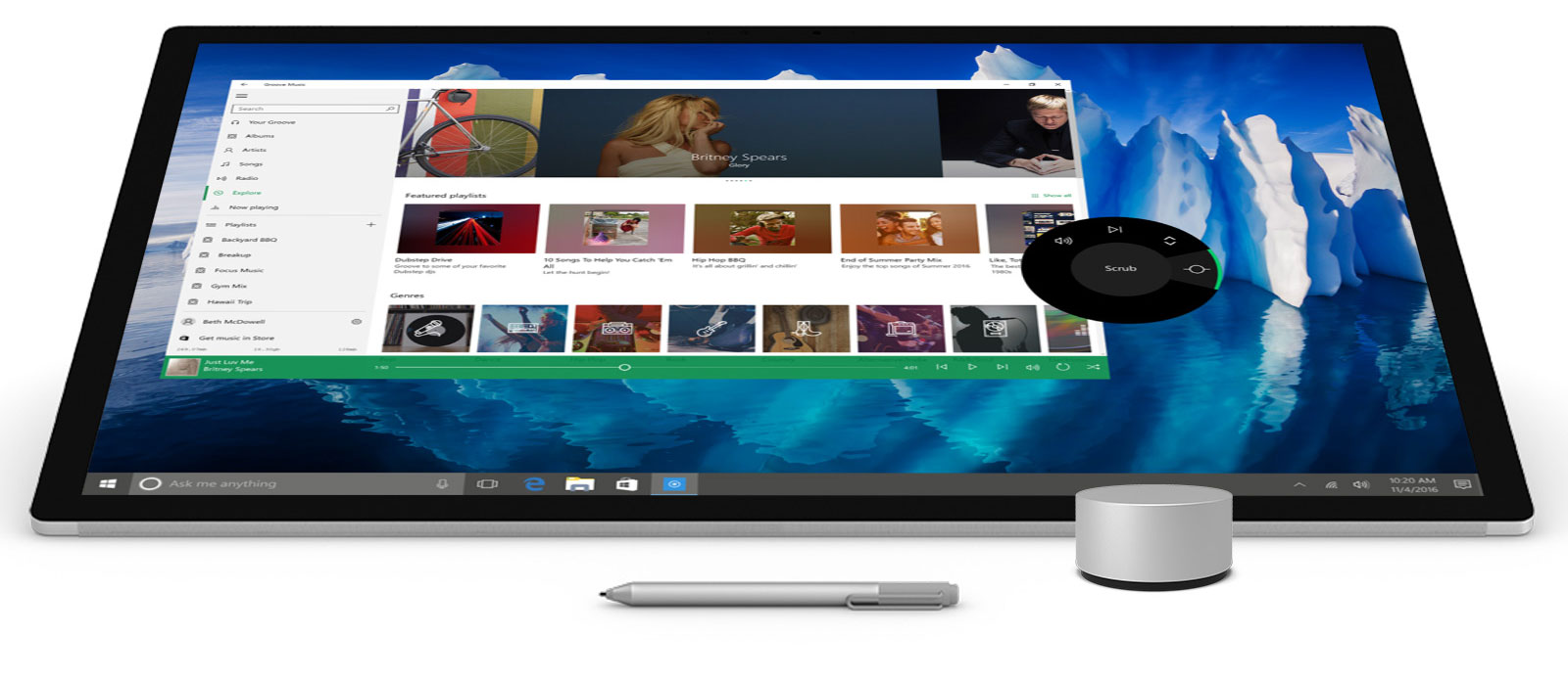 Microsoft Surface Studio Powerful Workstation Designed