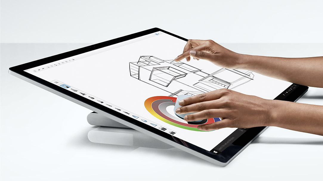 Microsoft Surface Studio Turn Your Desk Into A