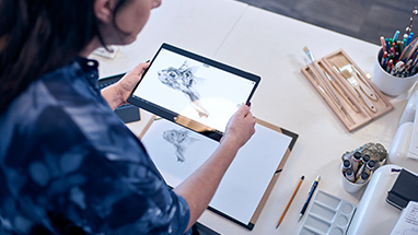 Windows Ink on Lenovo Yoga 900 tablet